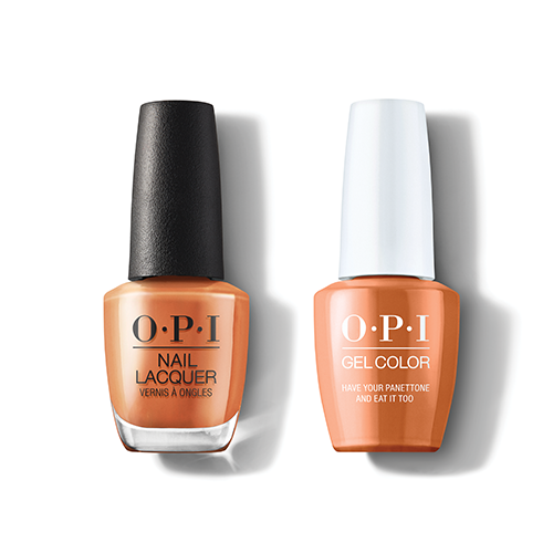 OPI - Gel & Lacquer Combo - Have Your Panettone And Eat It Too