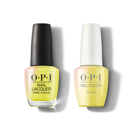 OPI - Gel & Lacquer Combo - Ray-diance