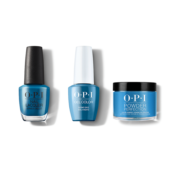 OPI - Gel, Lacquer & Dip Combo - Duomo Days, Isola Nights