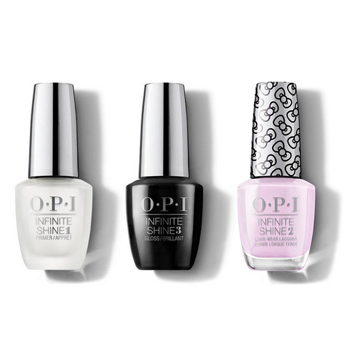 OPI - Infinite Shine Combo - Base, Top & A Hush Of Blush - #HRL33