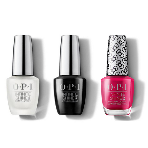 OPI - Infinite Shine Combo - Base, Top & All About The Bows - #HRL35