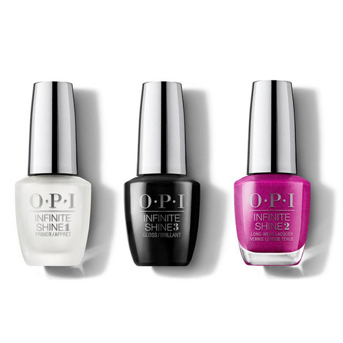 OPI - Infinite Shine Combo - Base, Top & All Your Dreams in Vending Machines - #ISLT84