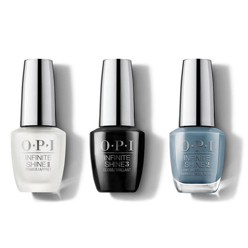 OPI - Infinite Shine Combo - Base, Top & Alpaca My Bags 0.5 oz - #ISLP33