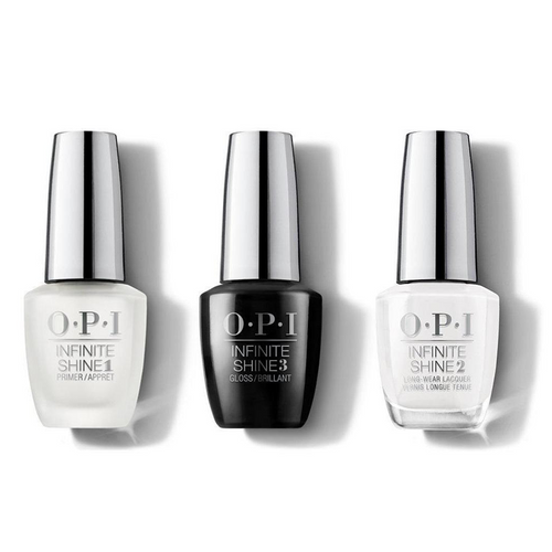 OPI - Infinite Shine Combo - Base, Top & Alpine Snow - #ISLL00