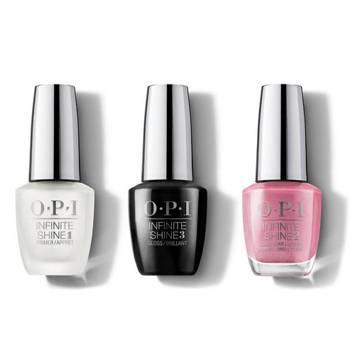 OPI - Infinite Shine Combo - Base, Top & Aphrodite's Pink Nightie - #ISLG01