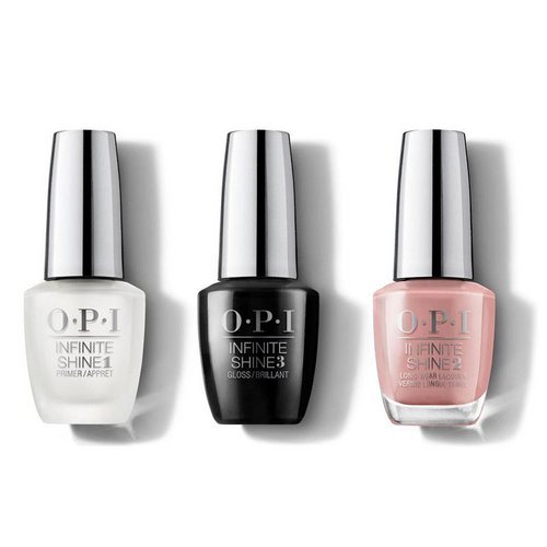 OPI - Infinite Shine Combo - Base, Top & Barefoot In Barcelona - #ISLE41