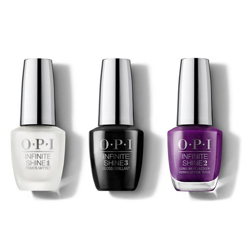 OPI - Infinite Shine Combo - Base, Top & Berry Fairy Fun 0.5 oz - #ISHRK23