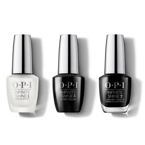 OPI - Infinite Shine Combo - Base, Top & Black Onyx - #ISLT02