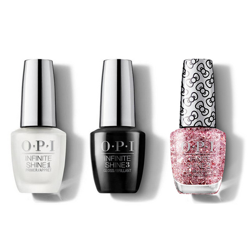 OPI - Infinite Shine Combo - Base, Top & Born To Sparkle - #HRL44