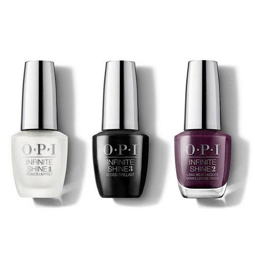 OPI - Infinite Shine Combo - Base, Top & Boys Be Thistle-ing At Me - #ISLU17