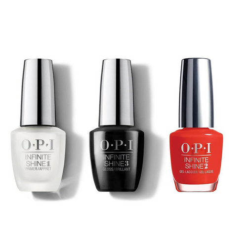 OPI - Infinite Shine Combo - Base, Top & Can't Tame A Wild Thing - #HRH47