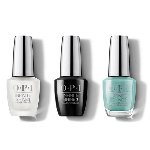 OPI - Infinite Shine Combo - Base, Top & Closer Than You Might Belem 0.5 oz - #ISLL24