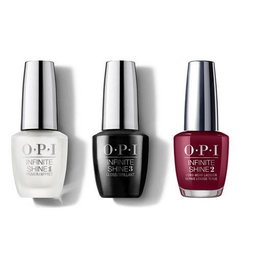 OPI - Infinite Shine Combo - Base, Top & Como se Llama? 0.5 oz - #ISLP40