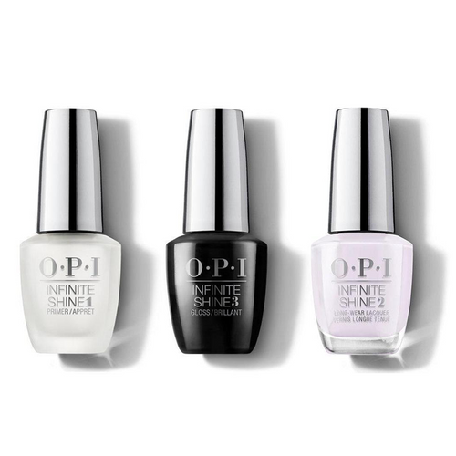 OPI - Infinite Shine Combo - Base, Top & Hue Is The Artist? - #ISLM94