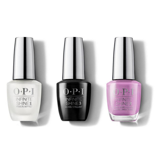OPI - Infinite Shine Combo - Base, Top & One Heckla of a Color! - #ISLI62