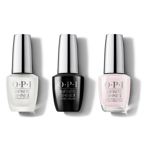 OPI - Infinite Shine Combo - Base, Top & Patience Pays Off 0.5 oz - #ISL47