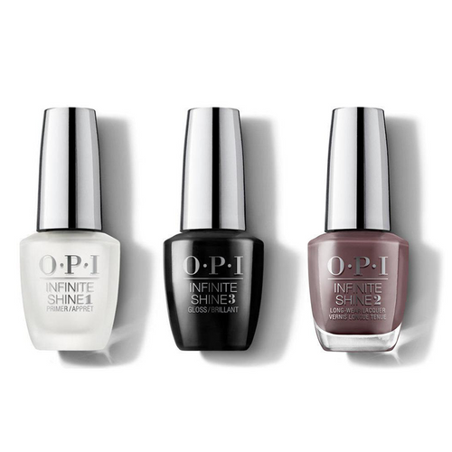 OPI - Infinite Shine Combo - Base, Top & You Don't Know Jacques! - #ISLF15