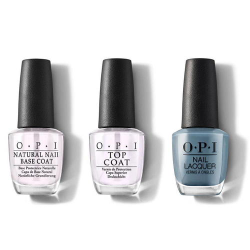 OPI - Nail Lacquer Combo - Base, Top & Alpaca My Bags 0.5 oz - #NLP33