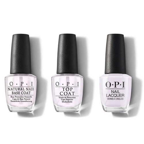 OPI - Nail Lacquer Combo - Base, Top & Hue Is The Artist? 0.5 oz - #NLM94