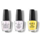 OPI - Nail Lacquer Combo - Base, Top & I Just Can't Cope-acabana 0.5 oz - #NLA65