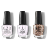 OPI - Nail Lacquer Combo - Base, Top & I Pull The Strings 0.5 oz - #NLHRK15
