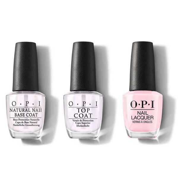 OPI - Nail Lacquer Combo - Base, Top & Mod About You 0.5 oz - #NLB56