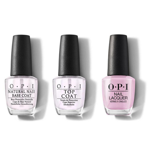 OPI - Nail Lacquer Combo - Base, Top & Purple Palazzo Pants 0.5 oz - #NLV34