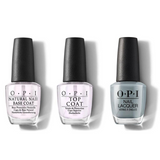 OPI - Nail Lacquer Combo - Base, Top & Ring Bare-er 0.5 oz - #NLSH6