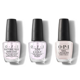OPI - Nail Lacquer Combo - Base, Top & Shellabrate Good Times! 0.5 oz - #NLE94