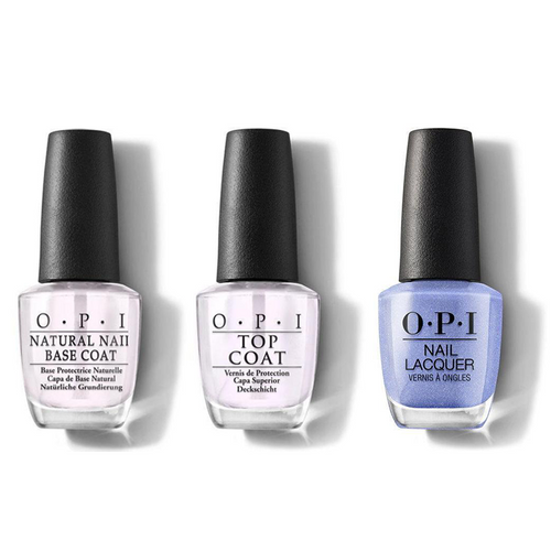 OPI - Nail Lacquer Combo - Base, Top & Show Us Your Tips! 0.5 oz - #NLN62