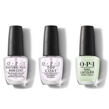 OPI - Nail Lacquer Combo - Base, Top & That's Hula-rious! 0.5 oz - #NLH65