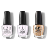 OPI - Nail Lacquer Combo - Base, Top & This Changes Everything 0.5 oz - #NLC75