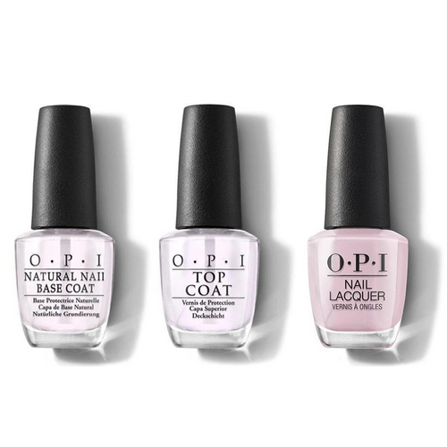OPI - Nail Lacquer Combo - Base, Top & You've Got That Glas-glow 0.5 oz - #NLU22