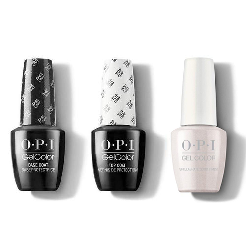 OPI - GelColor Combo - Base, Top & Shellabrate Good Times!
