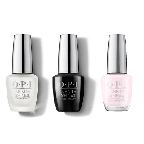 OPI - Infinite Shine Combo - Base, Top & Let's Be Friends! - #HRL31