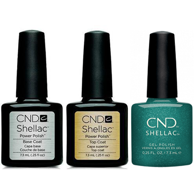 CND - Shellac Combo - Base, Top & She's A Gem!