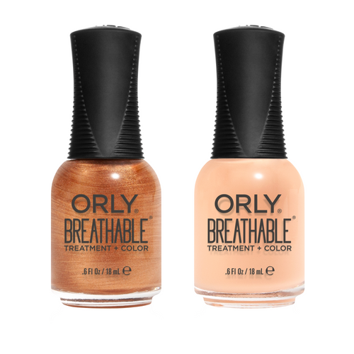 Orly - Breathable Combo - Golden Girl & Peaches And Dreams