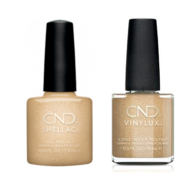 CND - Shellac & Vinylux Combo - Get That Gold