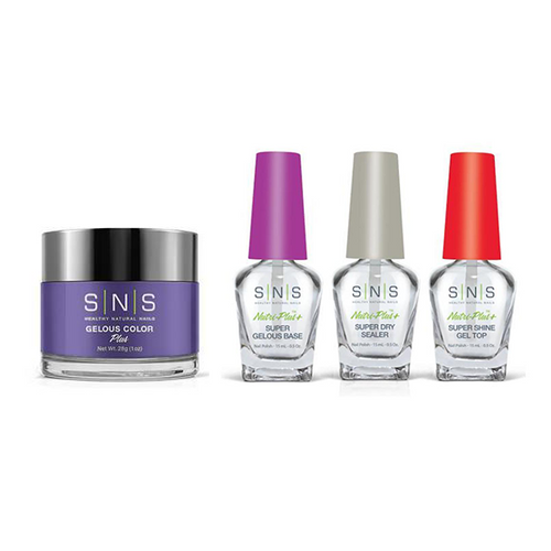 SNS - Dip Powder Combo - Liquid Set & China Aster