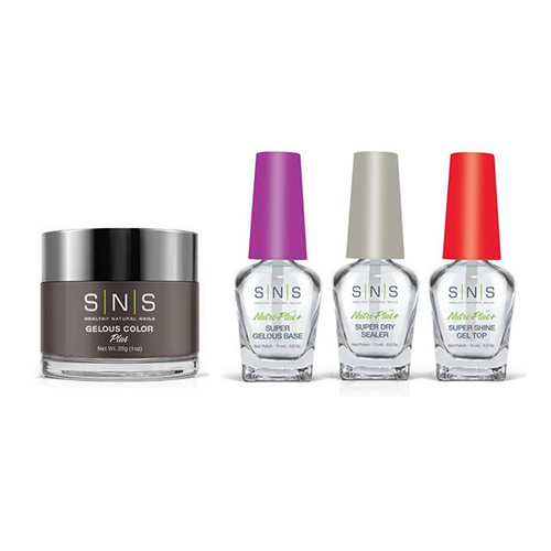 SNS - Dip Powder Combo - Liquid Set & Hinoki Cypress