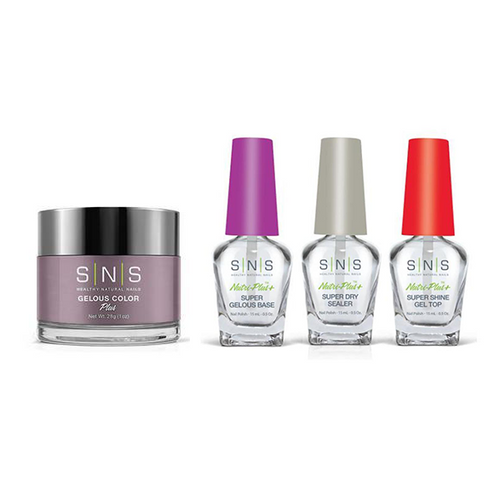 SNS - Dip Powder Combo - Liquid Set & Impatiens