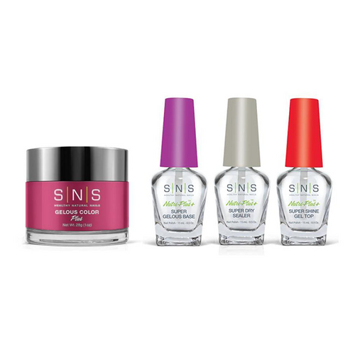SNS - Dip Powder Combo - Liquid Set & Power Pink