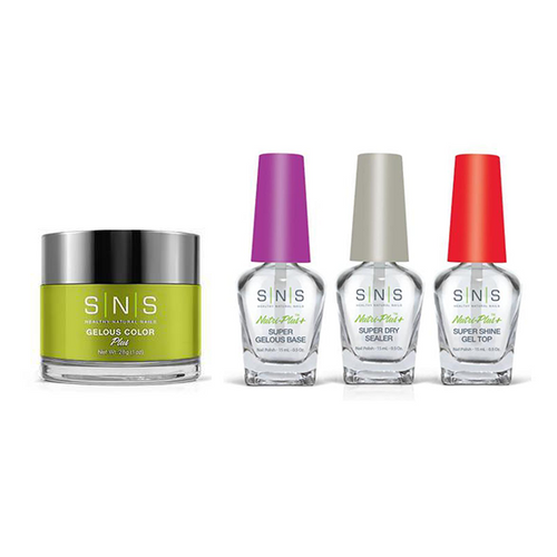 SNS - Dip Powder Combo - Liquid Set & Salut!