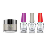 SNS - Dip Powder Combo - Liquid Set & Trendy Grey