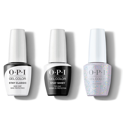 OPI - GelColor Combo - Stay Classic Base, Shiny Top & Halo There