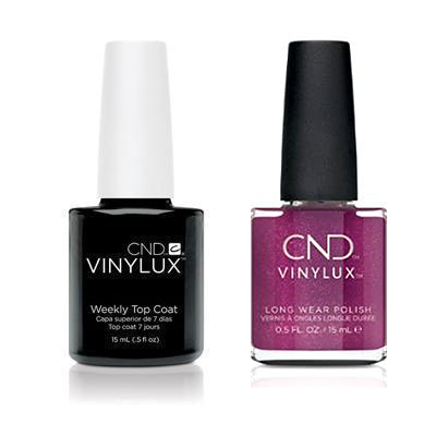 CND - Vinylux Topcoat & Drama Queen 0.5 oz - #367