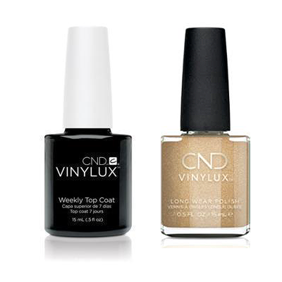 CND - Vinylux Topcoat & Get That Gold 0.5 oz - #368