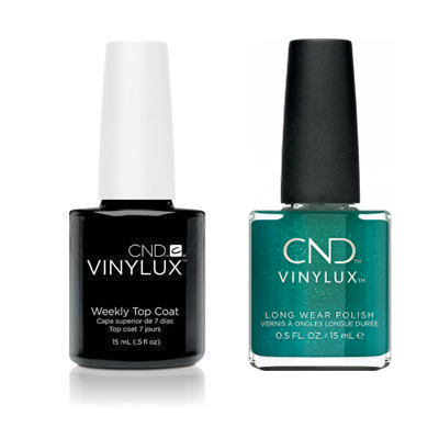 CND - Vinylux Topcoat & She's A Gem! 0.5 oz - #369