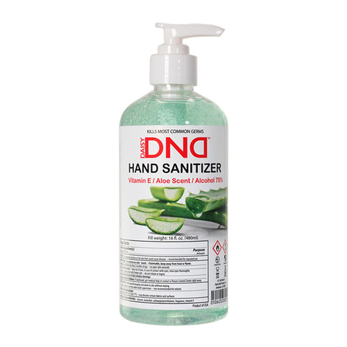 DND - Hand Sanitizer Gel Aloe 16 oz