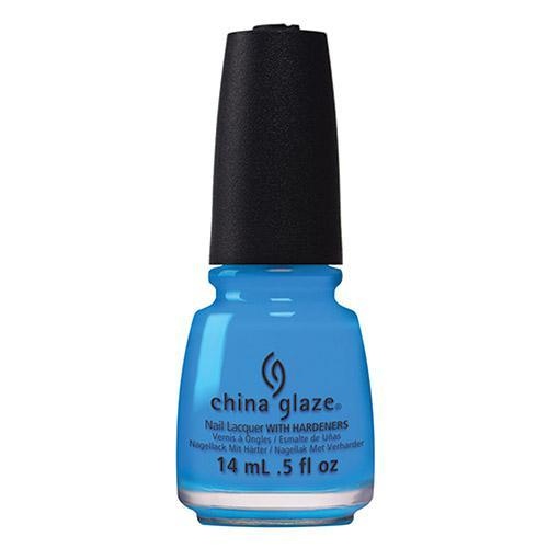 China Glaze - DJ Blue My Mind 0.5 oz - #82606